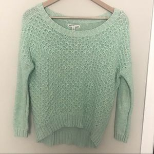 AE Scoop Neck Oversized Mint Green Sweater